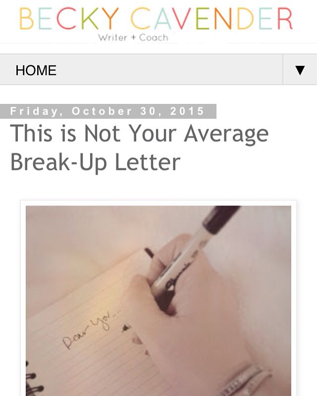 Best 25+ Break Up Letters Ideas On Pinterest | Teaching American
