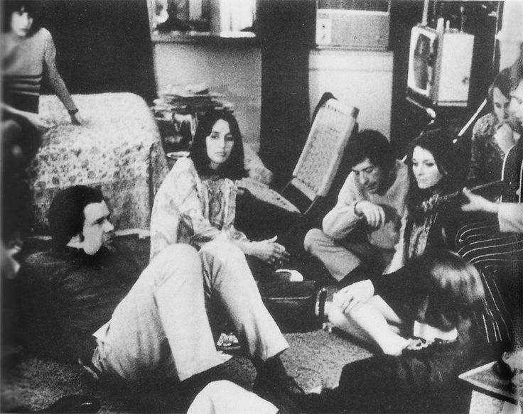 Leonard Cohen, Joan Baez, Judy Collins, Dave Van Ronk, Chad Mitchell et al Hang Out in NYC 1966