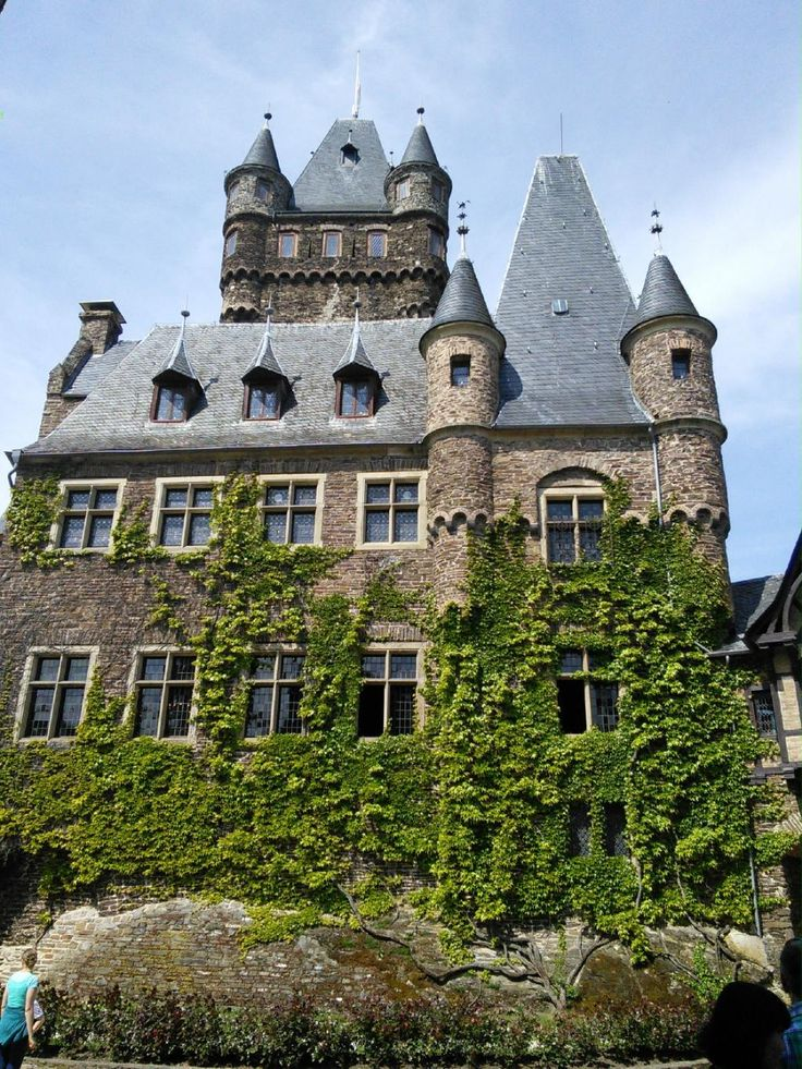 169 best images about castles and manors on pinterest - Cochem alemania ...