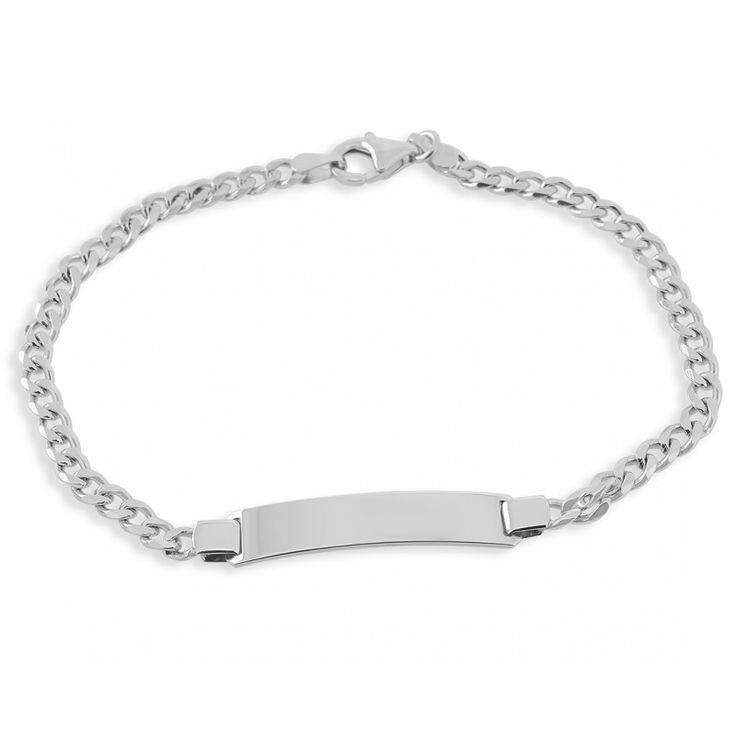 Ein schönes Panzerarmband aus 925 Sterling Silber. Das Herren Armband ist ca. 4mm stark und 20 cm lang. Das Armband besticht durch sein zeitloses Design und ist daher ein absoluter Hingucker.