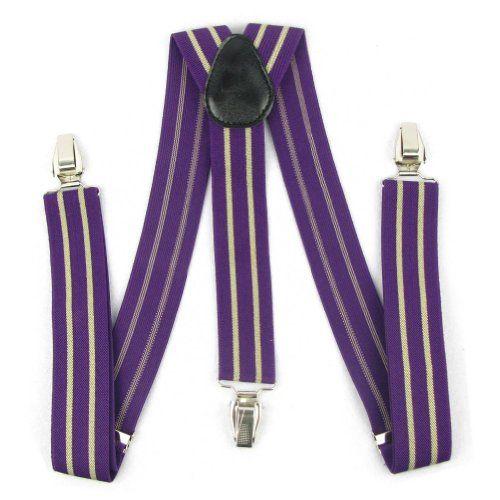 Enwis Suspenders Braces Polyester Elastic Adjustable Clip-On Stripe Purple Beige Enwis http://www.amazon.co.uk/dp/B00DNTGBQW/ref=cm_sw_r_pi_dp_G.04wb0993Y5C