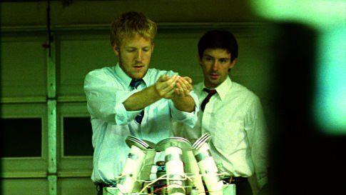 David Sullivan and Shane Carruth in Primer (2004)