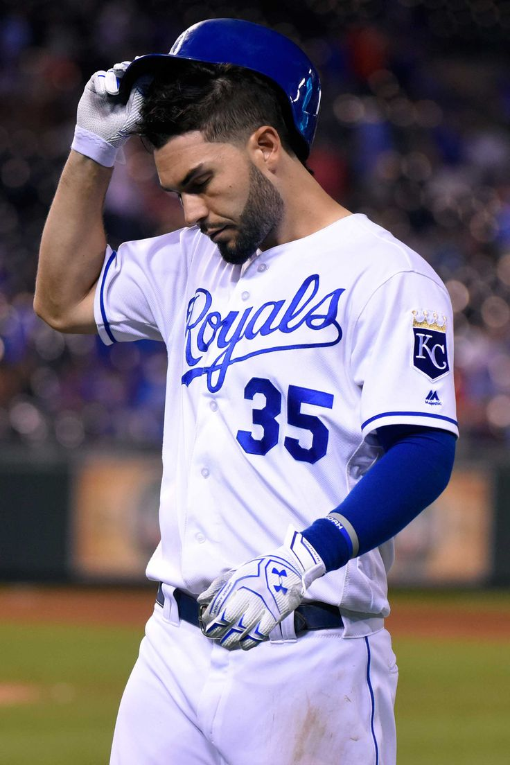 I LOVE baseball, especially the Royals and especially Eric Hosmer. :) I promise I don't love it just because of the boys (even though that's a perk). My family goes to a TON of games at the K, in fact I already have tickets to 3 games this summer.