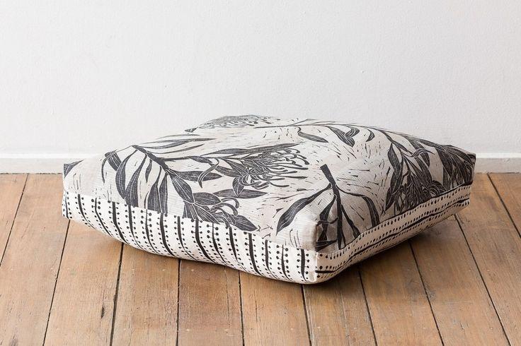 Floor Cushion - Waratah