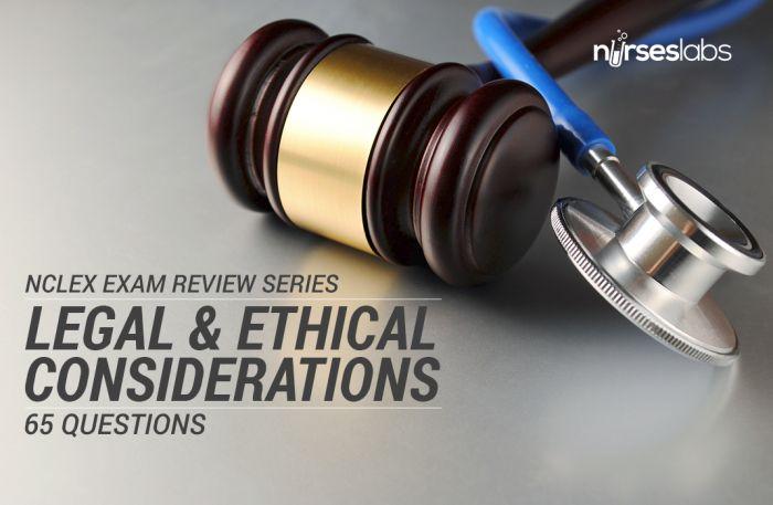NCLEX Quiz: Nursing Jurisprudence: Legal and Ethical ...