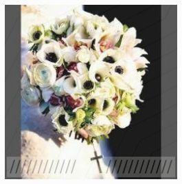 Trendy Brautstrauß Calla Lilien und Rosen Weiße …  – Orchideen İdeen