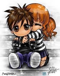 R sultat de recherche d 39 images pour dessin manga amoureux - Dessin manga amoureux ...