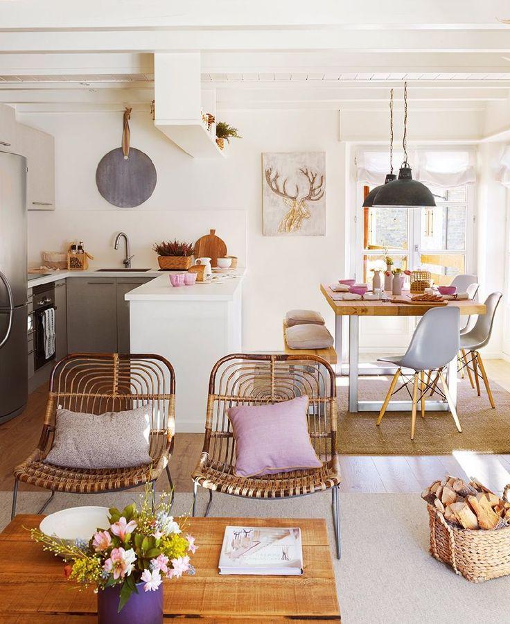adelaparvu.com despre apartament la munte, designer interior Carolina Juanes, Foto ElMueble (3)