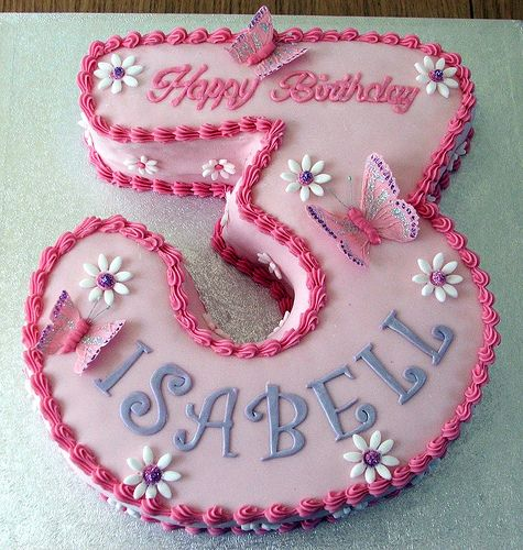 Ariana wants a Pink cake she says.  I think she will love for me to make this!