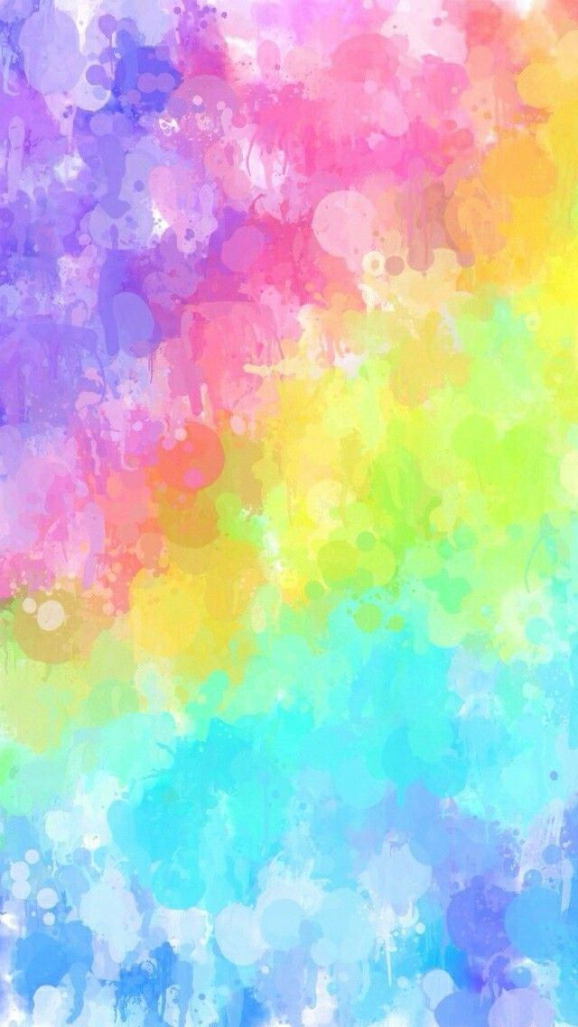 Rainbow Watercolour (With images) | Rainbow wallpaper iphone