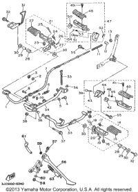 new back left flasher light assembly needed. Numbers needed: 26-29, 13-18   2000 Yamaha VIRAGO 535 (XV535M) Flasher Light   Babbitts Yamaha Parts House