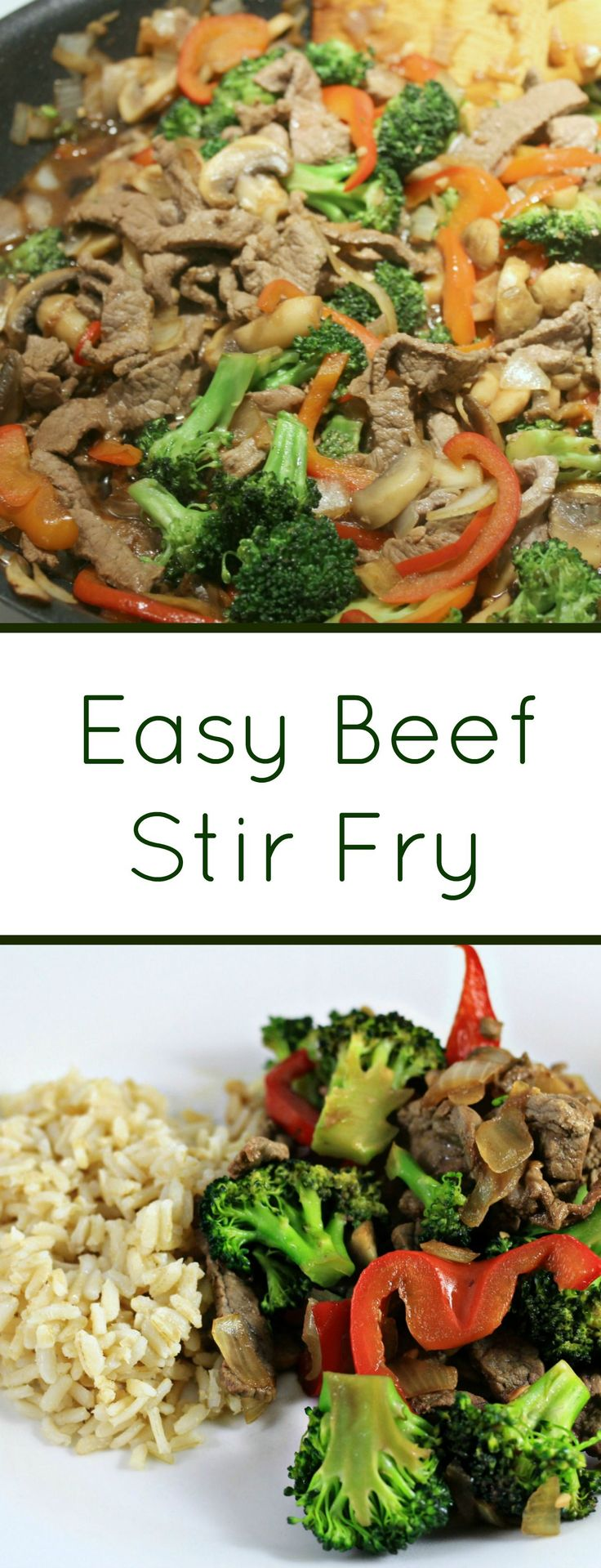 My Beef Stir Fry is delicious, easy and healthy. It's 21 day fix approved and ready in 15 minutes. Give it a try!