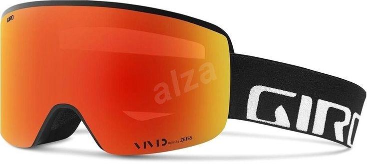 GIRO Axis Black Wordmark Viv Ember/Viv Infrared - Lyžařské brýle