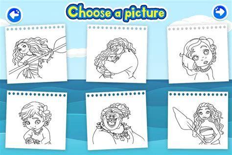 moana coloring book games  my jaksuka blog  disney coloring pages moana coloring pages free