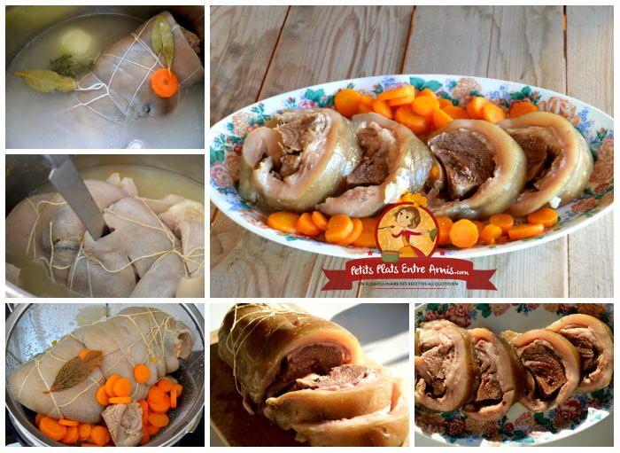 Tete De Veau Sauce Gribiche Recettes De Cuisine Tete De Veau Recette