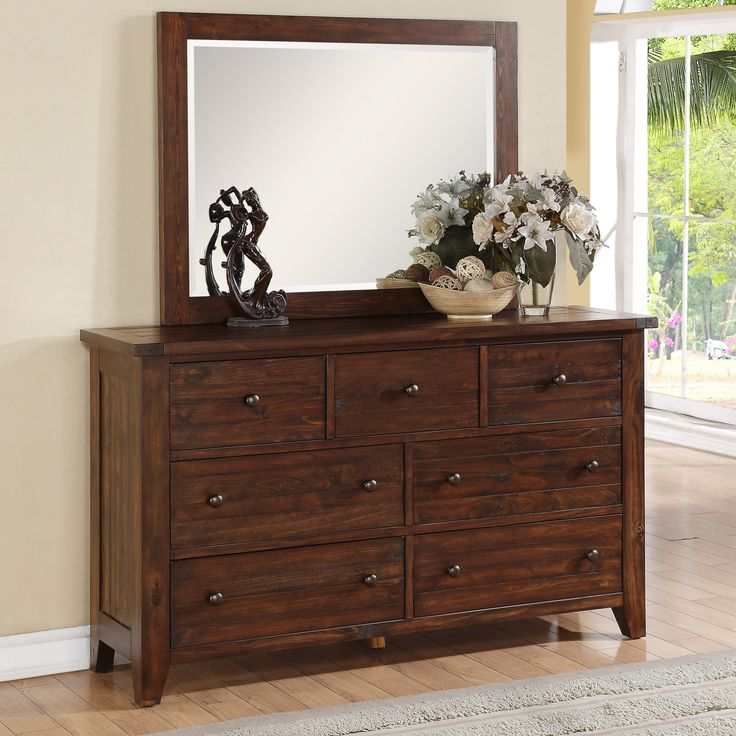 shop for the modus cally dresser at miskelly furniture your jackson mississippi furniture u0026 mattress store - Mirrored Dresser Cheap