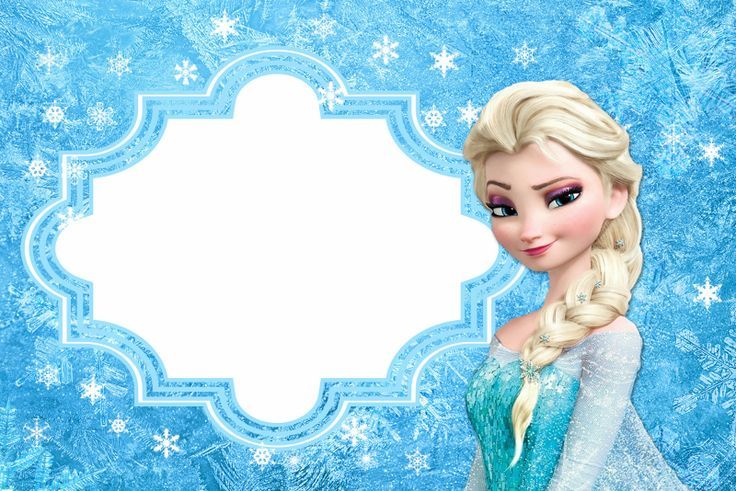 Frozen Tarjetas o Invitaciones para Imprimir Gratis FROZEN PARTY IDEAS Pinterest Frozen