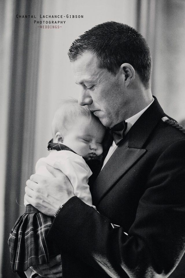 ~ A fathers love ~ captured by destination wedding photographer Chantal Lachance-Gibson Photography.