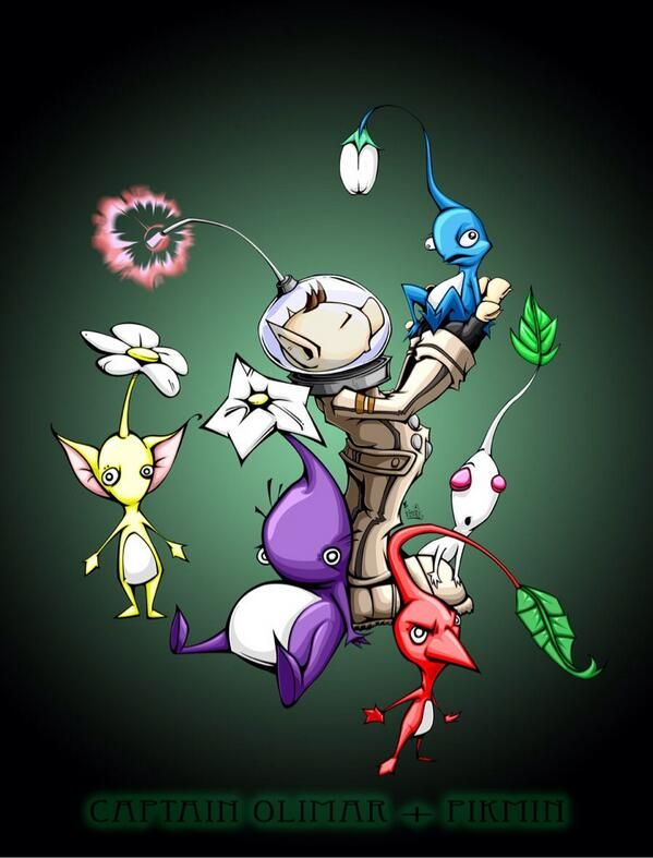 50 Best Pikmin Images On Pinterest Videogames Video