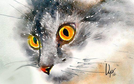 Portrait d'animal. Portrait animalier personnalisé. Portrait à l'aquarelle pour animaux de compagnie painting.watercolor print.custom animal print, sur mesure pour animaux de compagnie affiche, chien