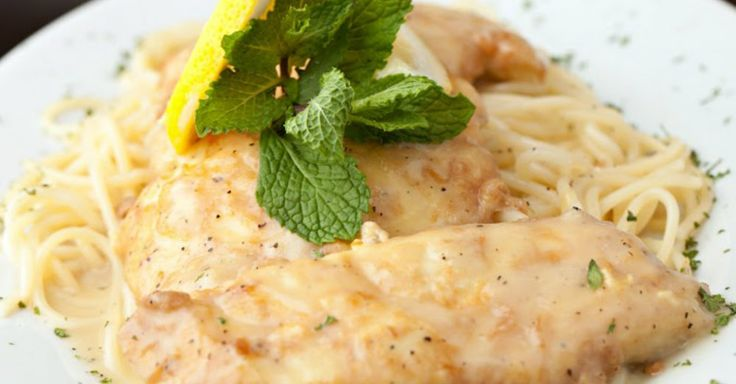 Classic Chicken Francaise - chicken francaise is the perfect dish: deliciously fried chicken breasts served over spaghetti with a bright and citrusy, white wine sauce…it doesn't get any better than that!