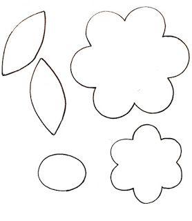 Patrones para hacer flores - Imagui