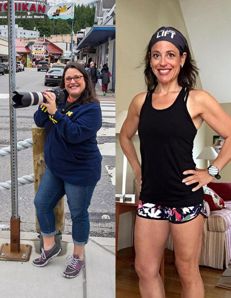 Jodi Friedman before and after weight loss
