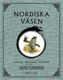 Nordiska väsen  av Johan Egerkrans 186 kr