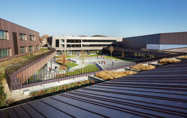 Gallery of Secondary School, Sport Hall and Cultural Center / Chartier Dalix Architectes - 2
