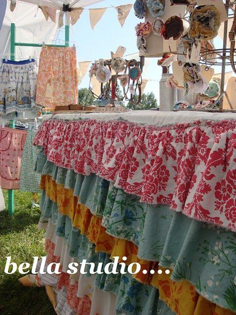 Fun tablecloth!