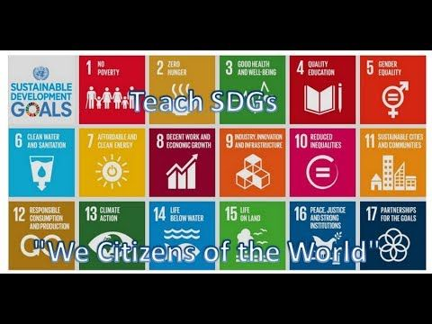 Teach SDGs We Citizens of the World – Alexandra d' Epiro Dusmet de Beaulieu
