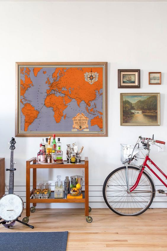 The 25 best vintage world maps ideas on pinterest world maps vintage world map print world map poster world map wall art vintage world map design printable art air france map orange map 498 gumiabroncs Images