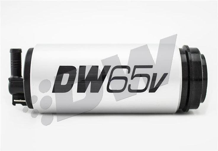 DeatschWerks DW65v Series 265 LPH Compact In-Tank Fuel Pump with VW Audi 1.8T 2.0T FWD Set Up Install Kit