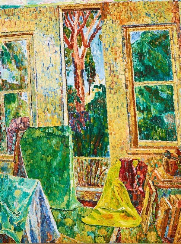 The Window / Grace Cossington Smith / 1956 / oil on hardboard