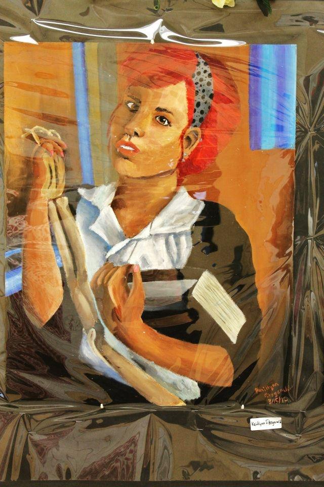 Self portrait, 2012 (Acrylic Paint)