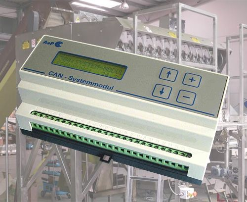CAN BUS system module for packaging machines