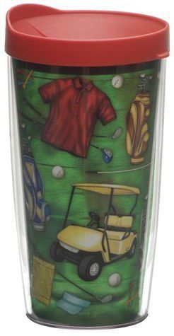 Tervis Tumbler Golf 16oz Insulated With Spill Proof Lid By Company 15 99 Polymer Microwave