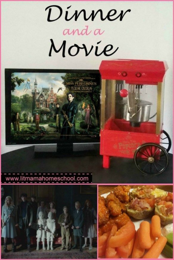 Dinner and a Movie: Miss Peregriine's Home for Peculiar Children - Suggestions and recipes for a family movie night