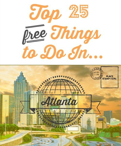 Look no further for a frugal guide to the great city of Atlanta! Enjoy you vacation with these free destinations.