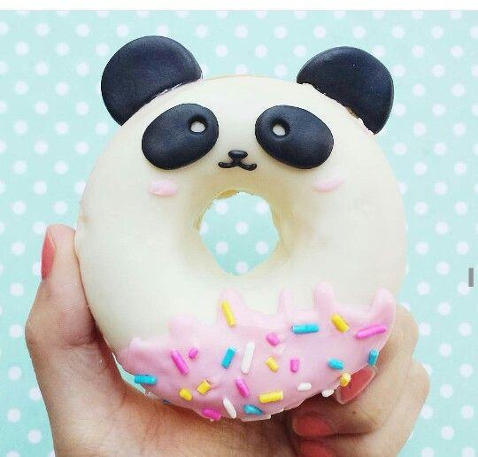 Panda donut                                                                                                                                                                                 More
