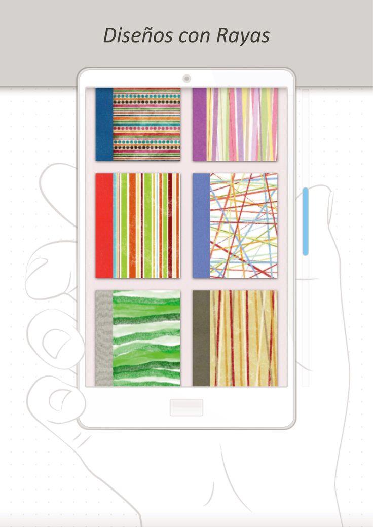 Tenemos más de 100 Diseños para elegir, estos son algunos de los del grupo de RAYAS http://www.milibrodefirmas.com/#!rayas/c1kpi