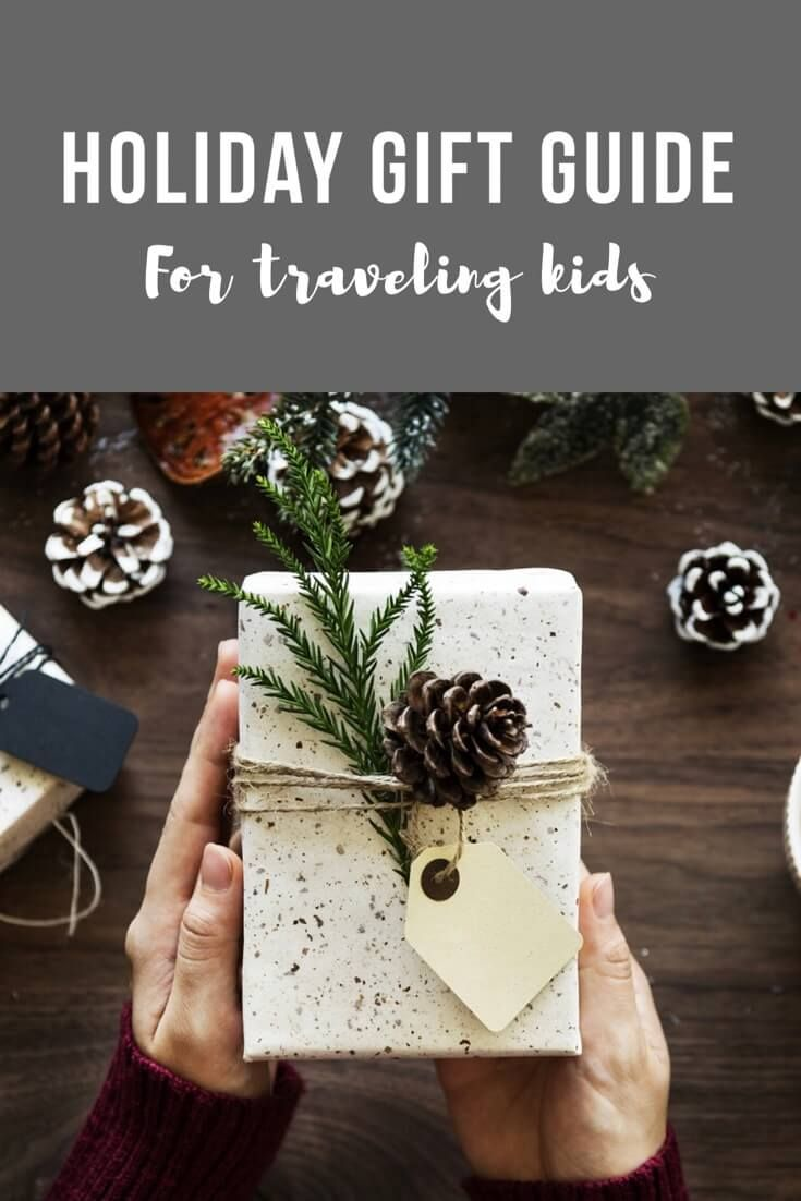 Mackinaw Road's Holiday Gift Guide for the Traveling Kids in your life.