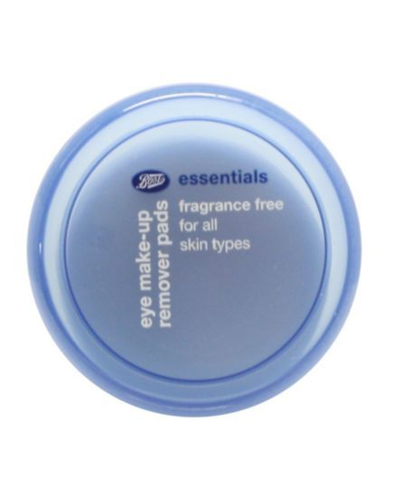 Boots Essentials Fragrance Free Eye Make up Remover Pads 40 - Boots