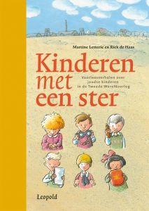 Kinderen met een ster- Martine Letterie Ontzettend goed boek over de tweede wereldoorlog, voor de laagste klassen van de basisschool.  https://www.hebban.nl/spot/boeken-met-een-ster/nieuws/kinderen-met-een-ster-martine-letterie