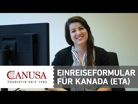 Video CANUSA erklärt: ETA-Antrag für die Einreise nach Kanada | traveLink.