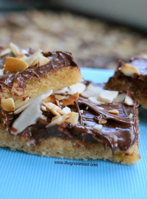 Cleta Bailey's Toffee Squares / Μπάρες μπισκότου με ...