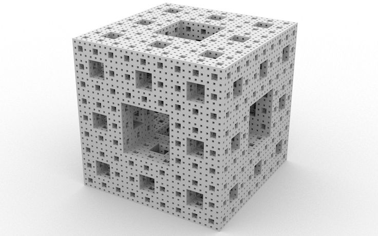 3d Menger Sponge Wallpapers - 1680x1050 - 910292