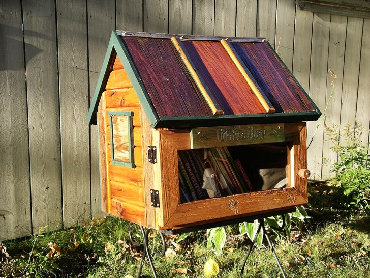 Little Free Library offers kits to build your own miniature library in your neighborhood, encouraging literacy and community.