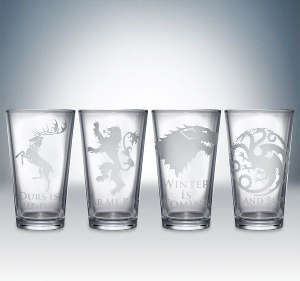 Game of Thrones shot glasses. I need this in my life.
