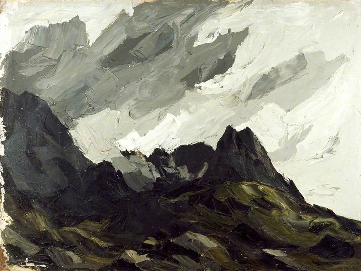 Tryfan by Kyffin Williams Date painted: 1960–1980